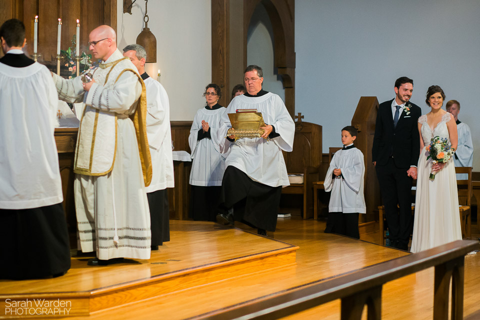 Censing the Altar During the Introit