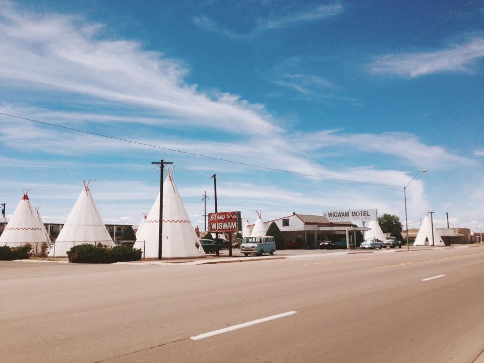 Wig Wam Motel. Holbrook, AZ.