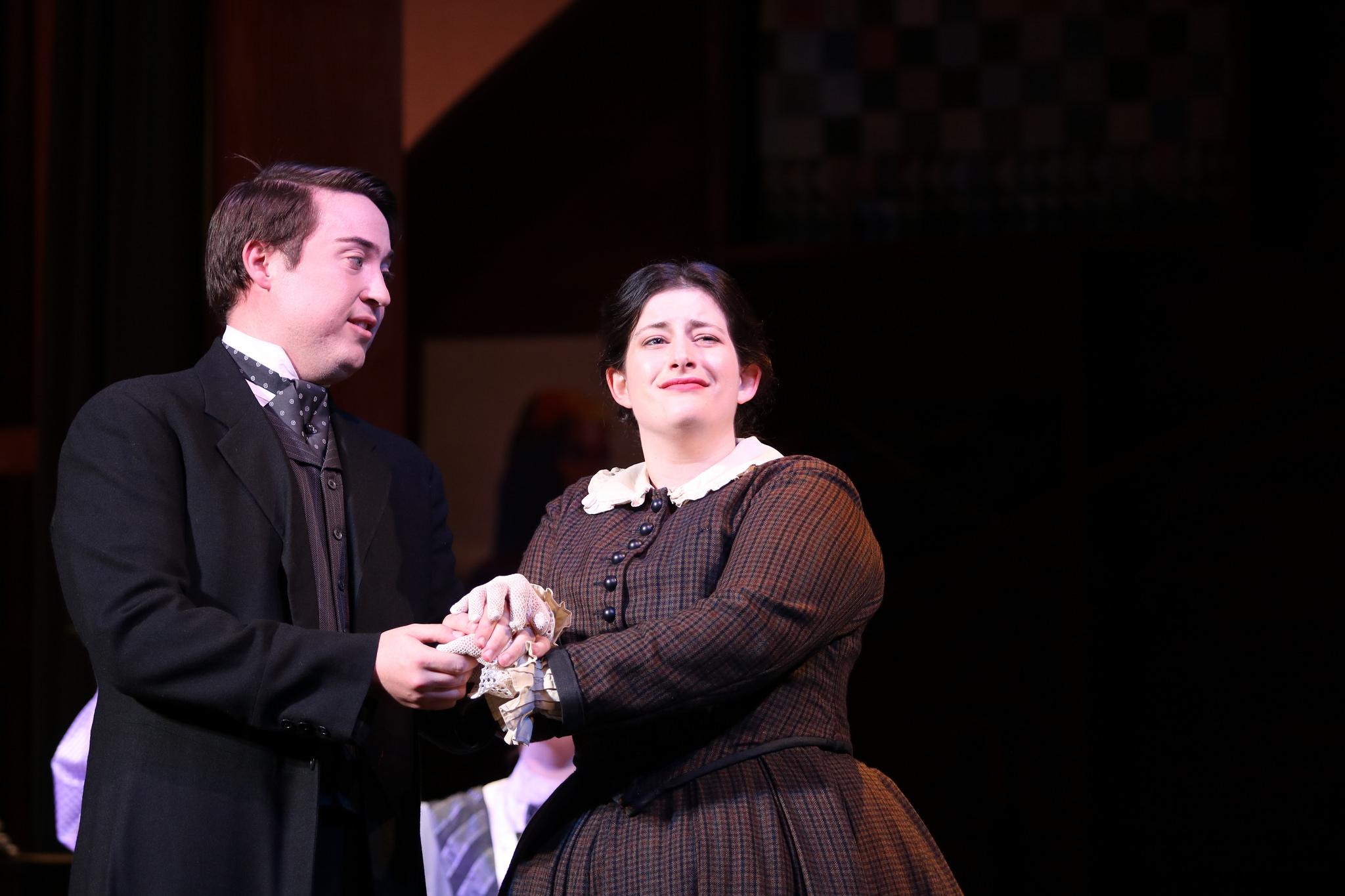 Alma & Gideon in Little Women
