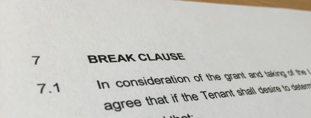 Break Option