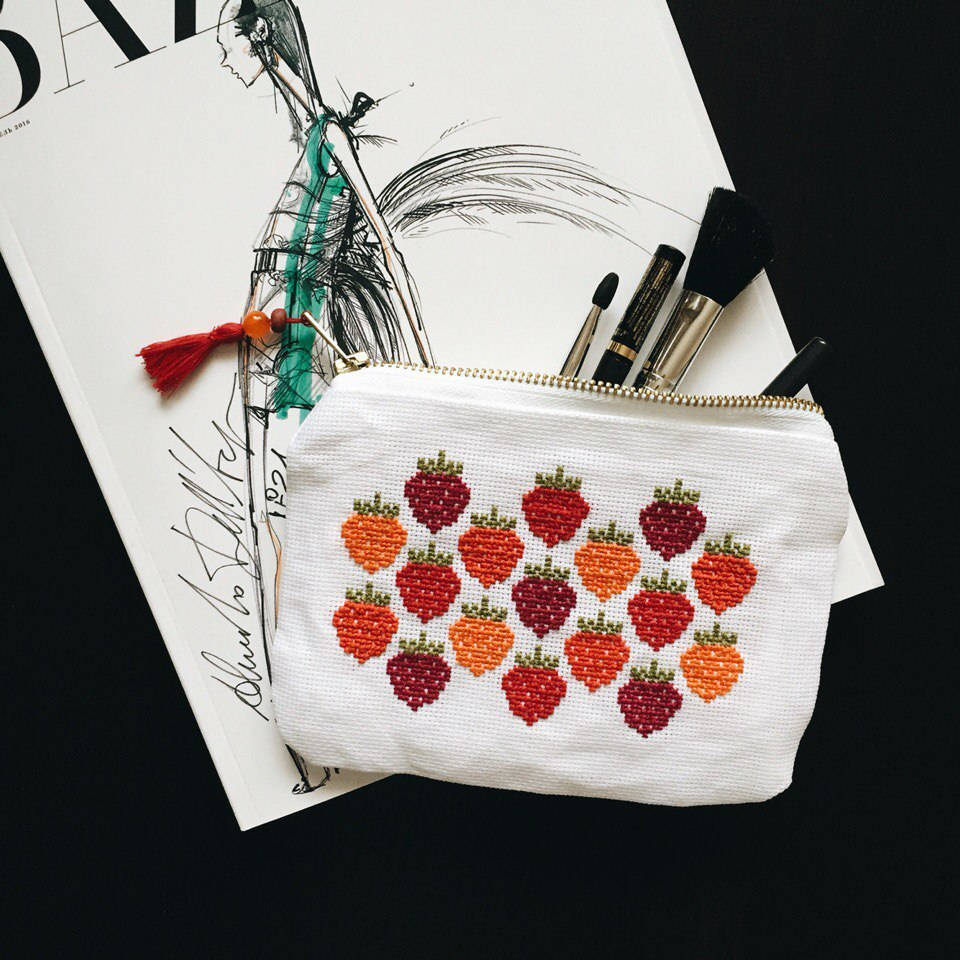 Strawberry Make-up Bag
