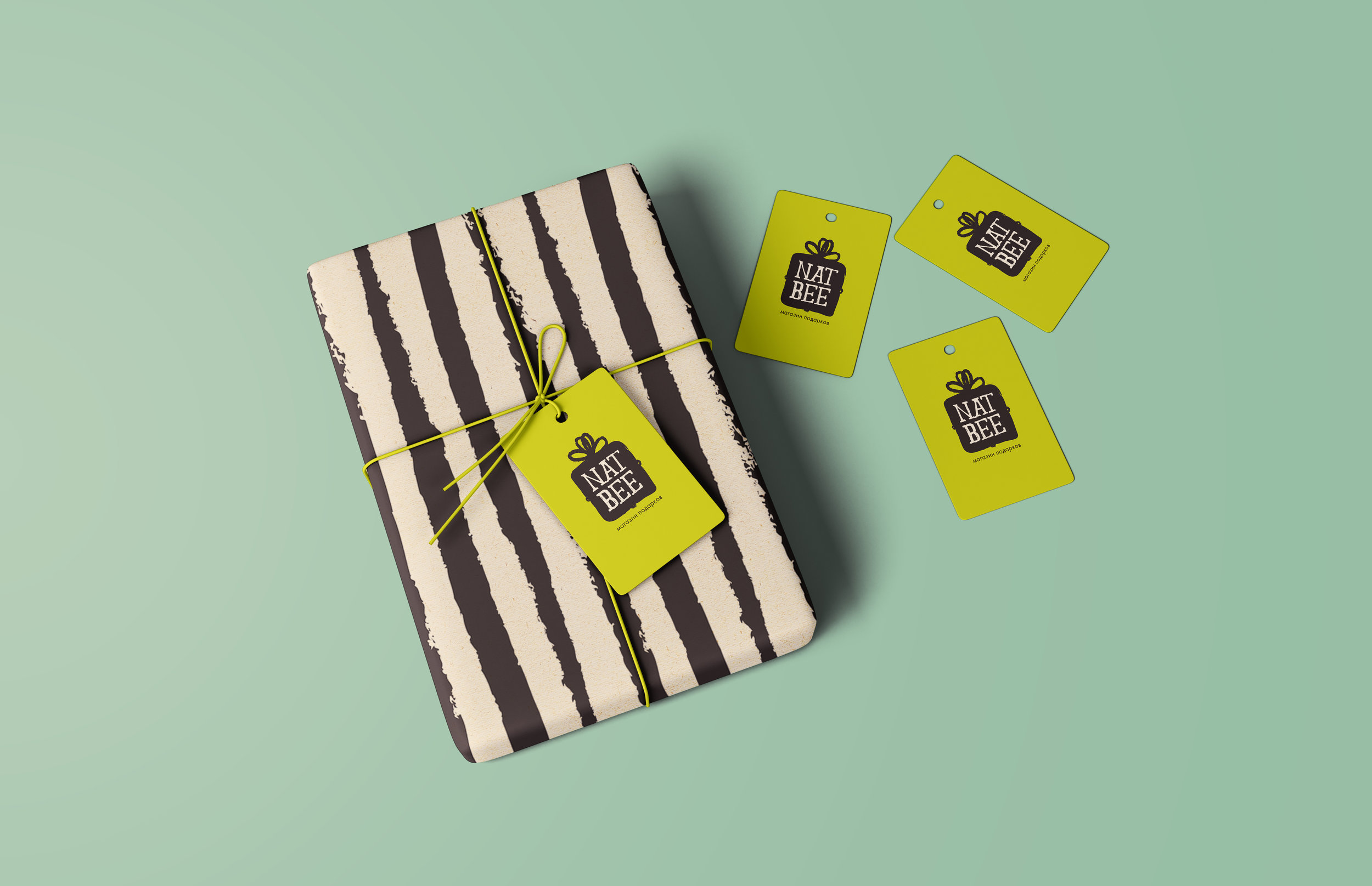 Wrapping paper & Labels