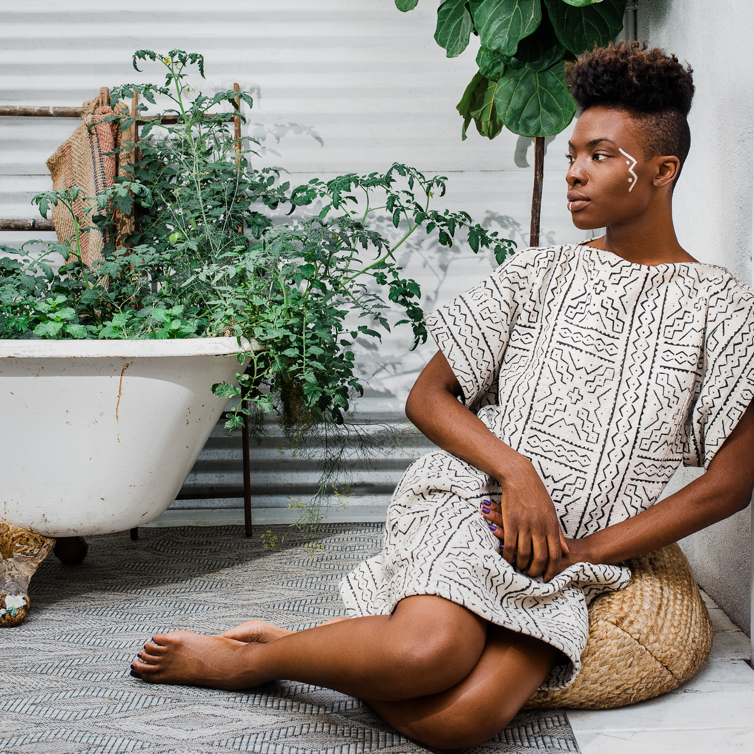 Melanin and Sustainable Style, Abstract Royalty