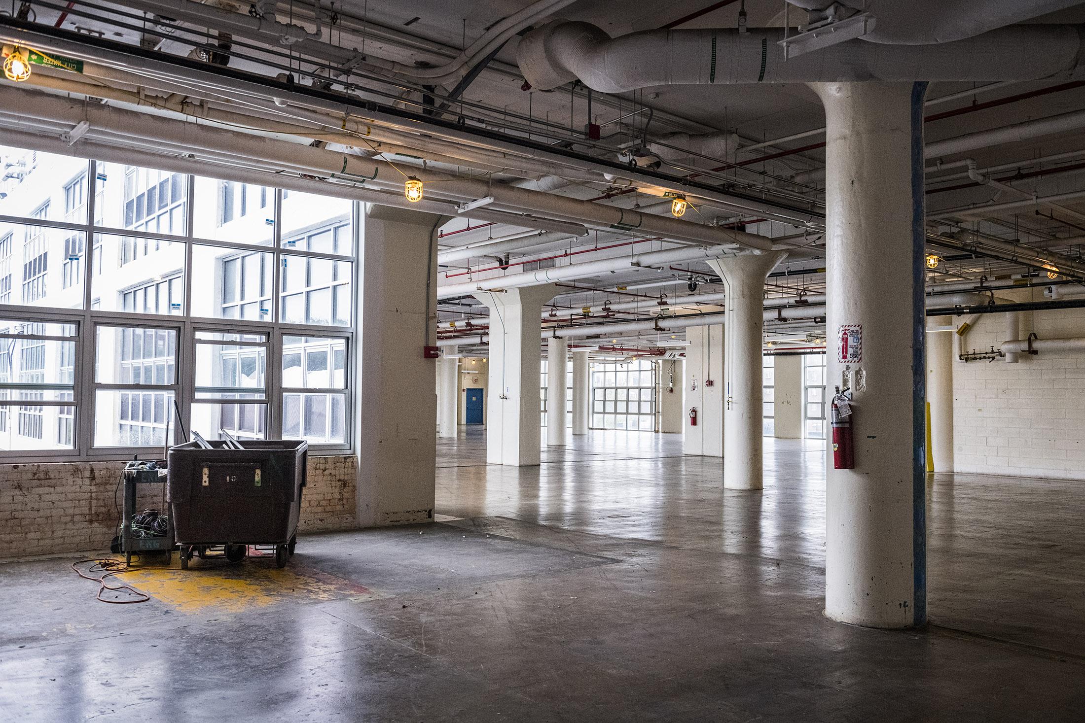 Im Pfizer Building gibt es noch viel Platz für Startups