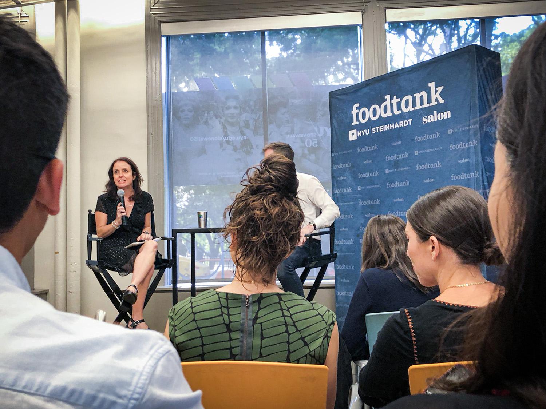 "Danielle Nierenberg Gründerin des Thinktanks ""Food Tank"""