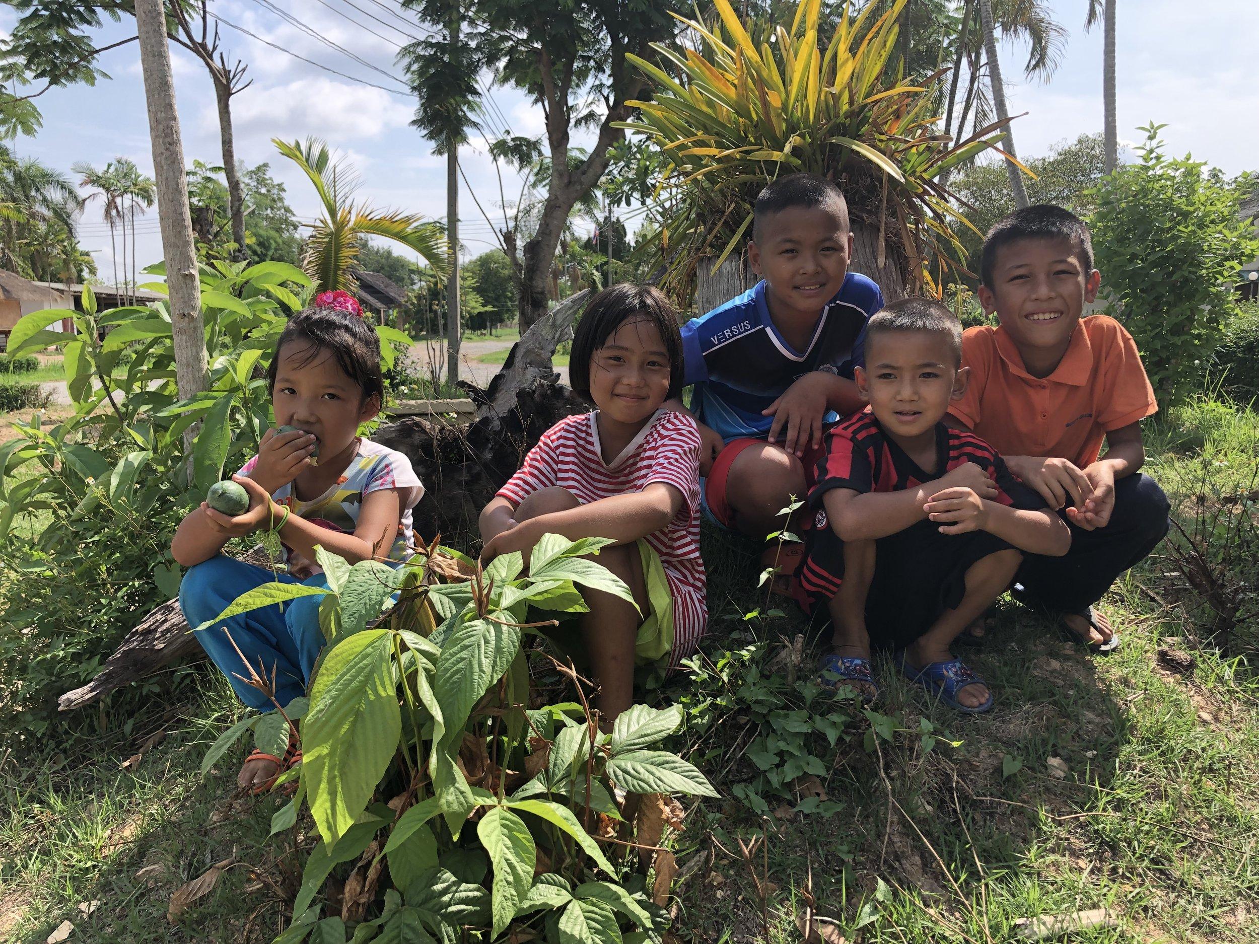5 nye forhåpningsfulle barn til BCM – Foto: Knut Inge Bergem
