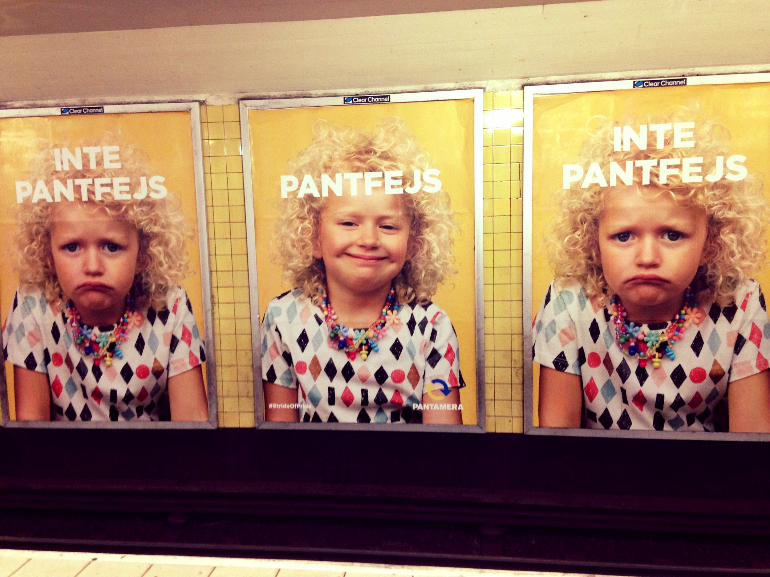 Subway smiles...