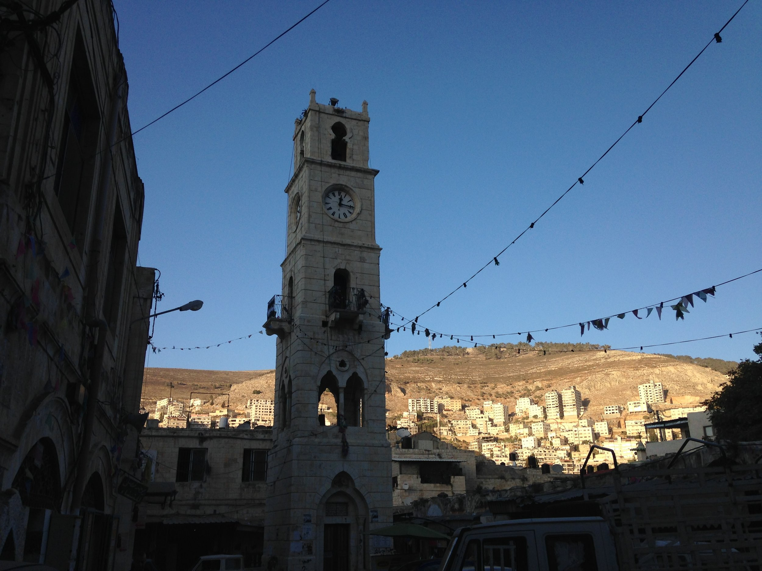 The clock tower (old city)