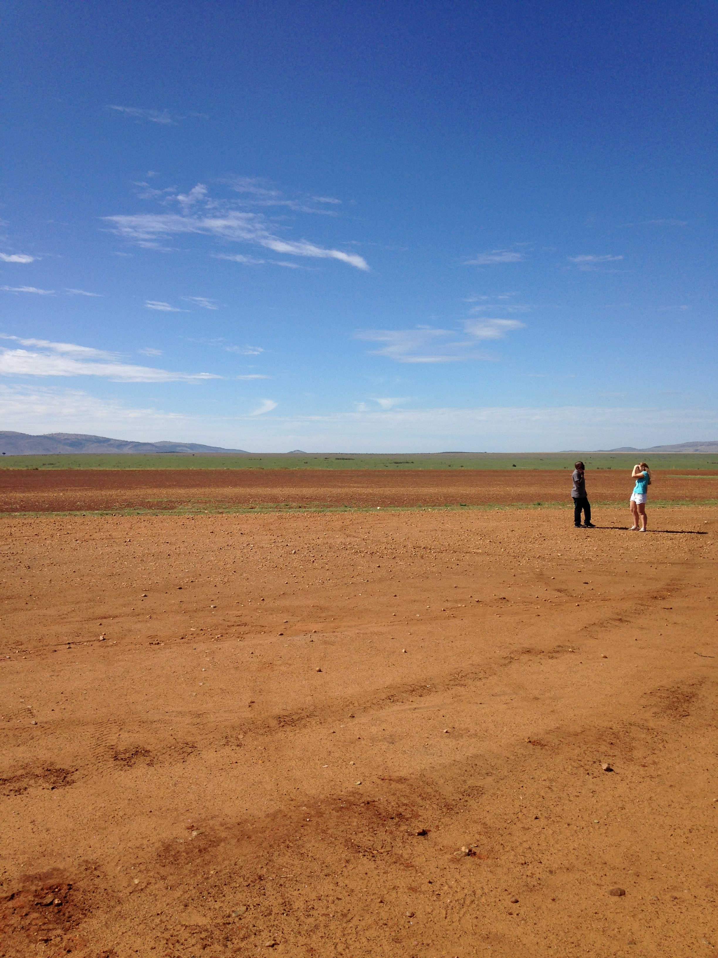 Somewhere in the Masai Mara National Reserve