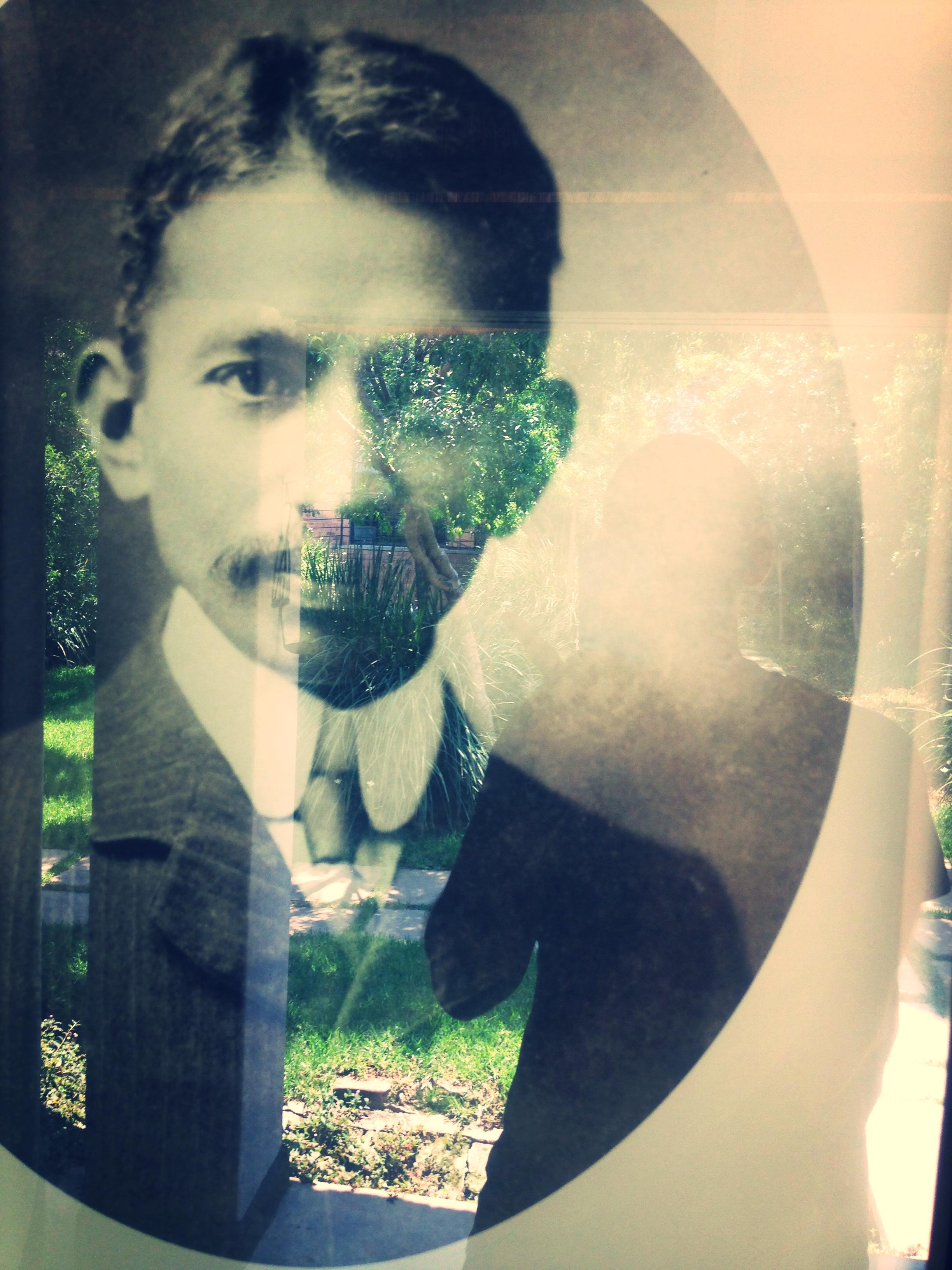 Gandhi selfie