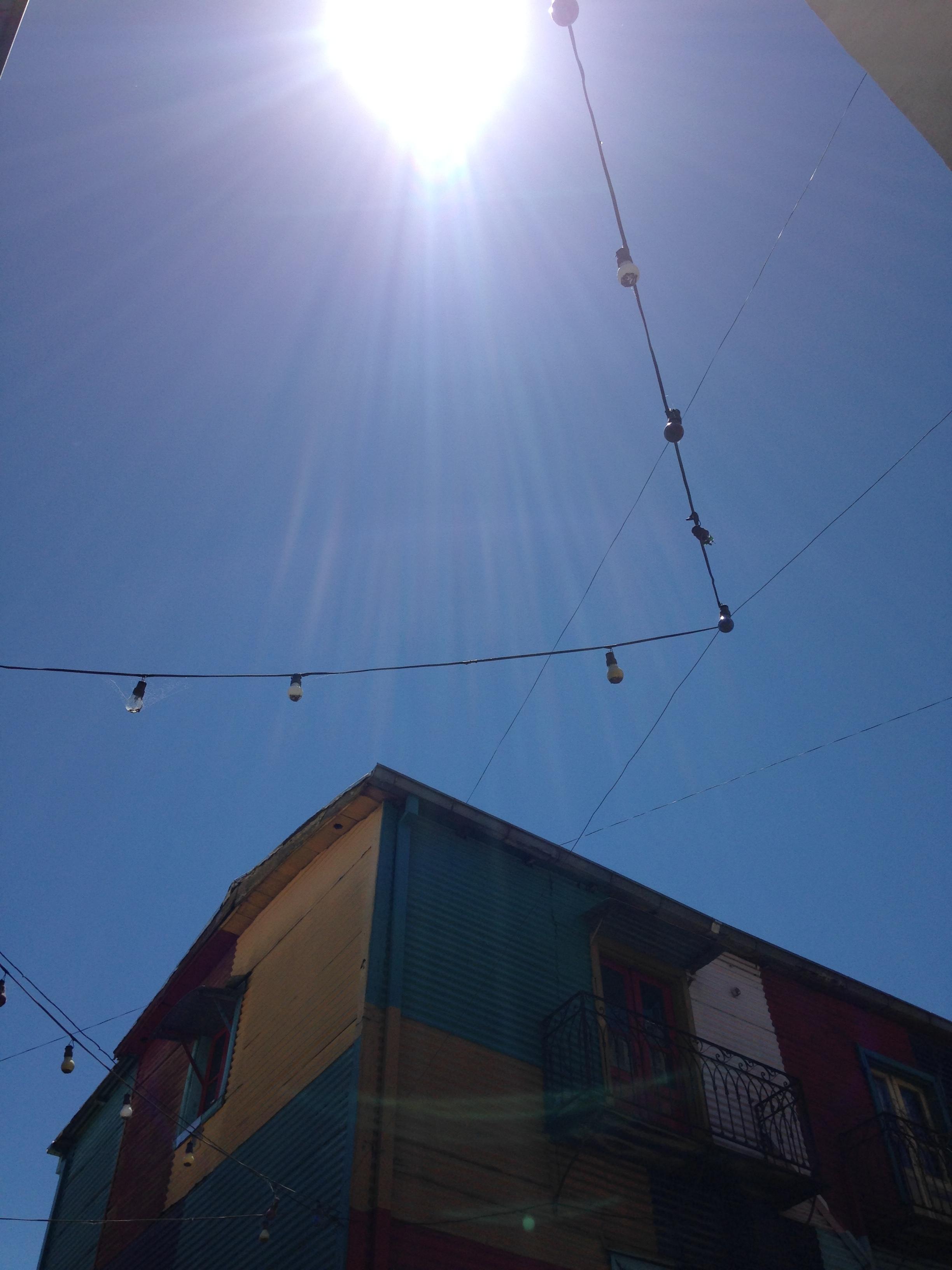 Caminitos, colorful La Boca area