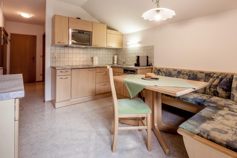 Appartement Rastkogel Küche