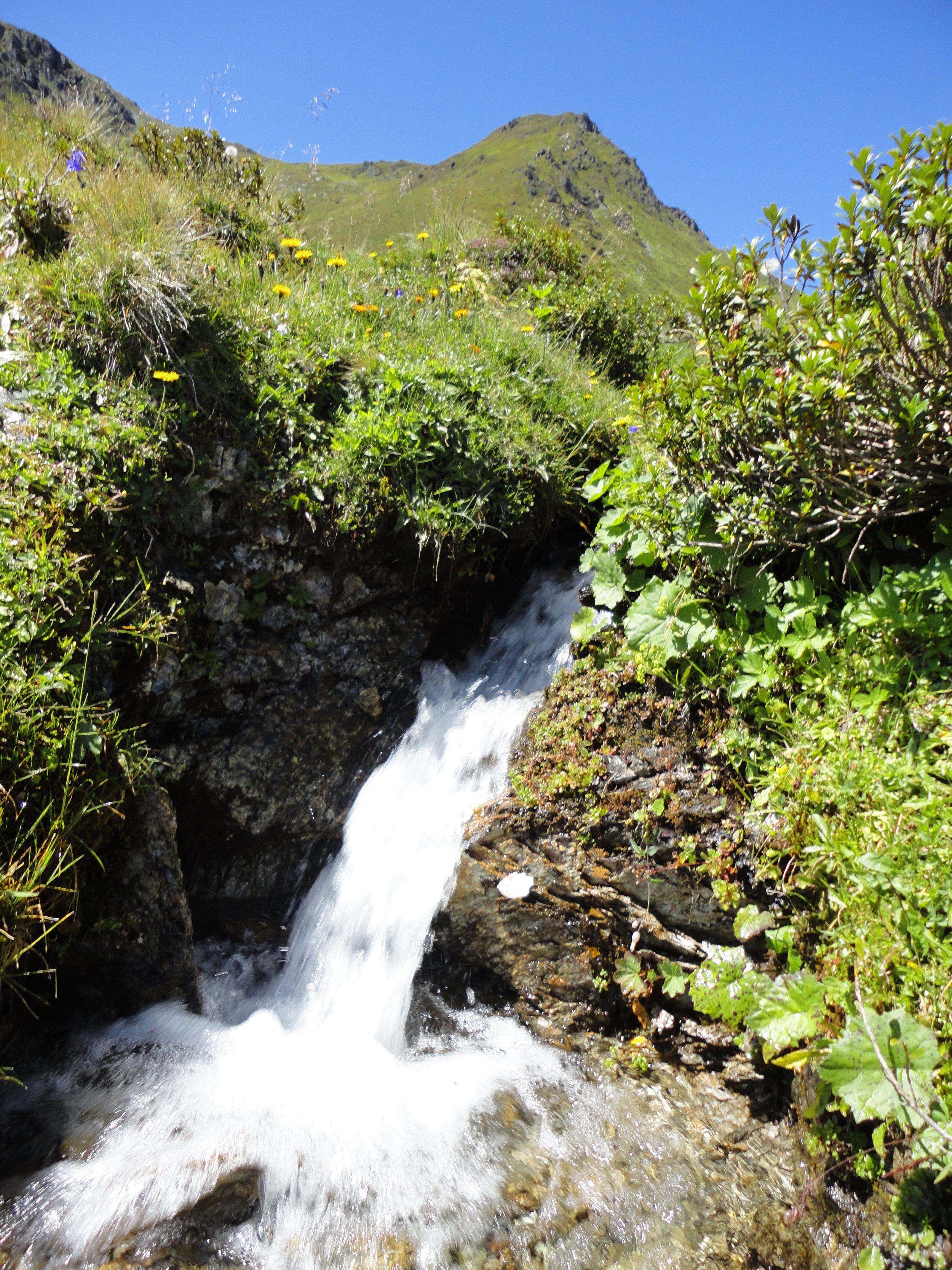Klares Bergwasser