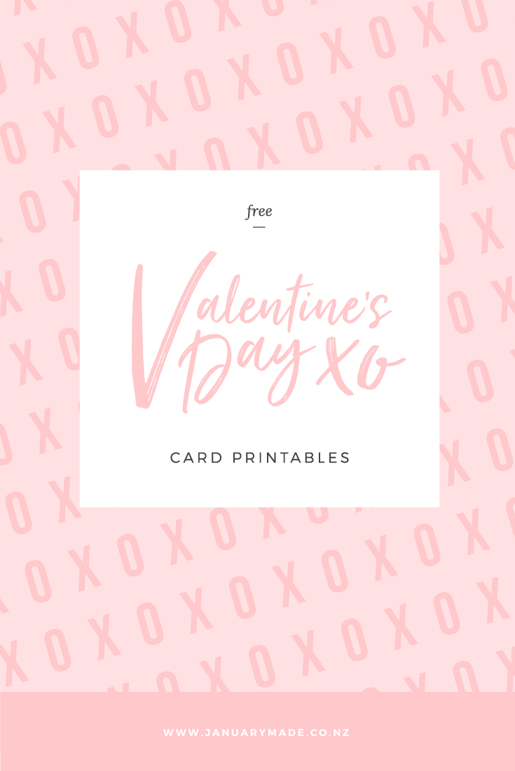 Free Valentine's Day Printables.