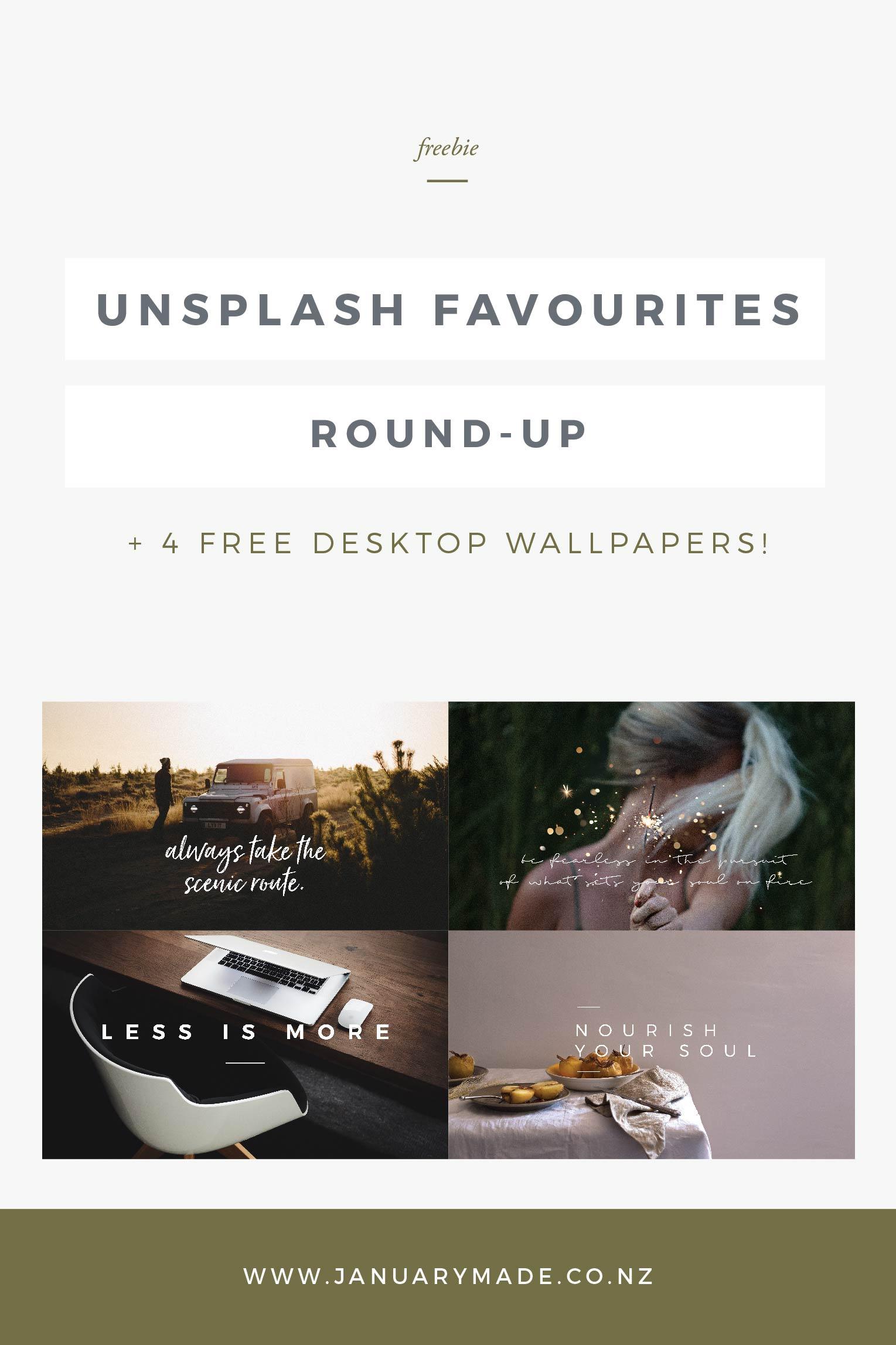 Unsplash Favourites Round-Up + FREE Desktop Wallpapers