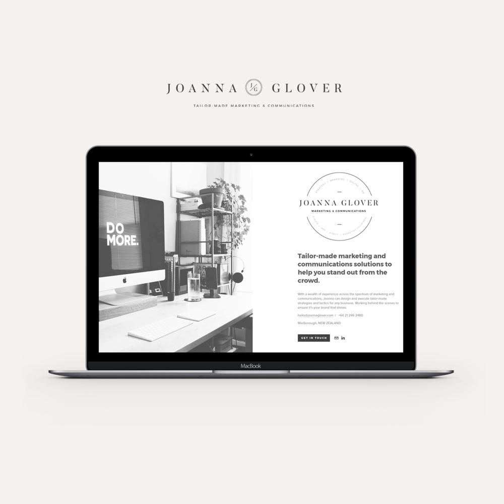 Joanna Glover website.