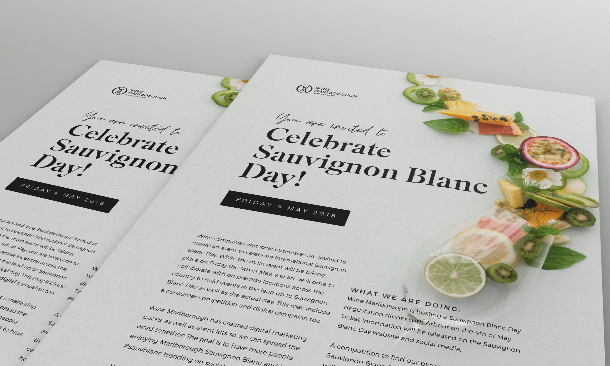 Sauvignon Blanc Day 2018 - January Made Design