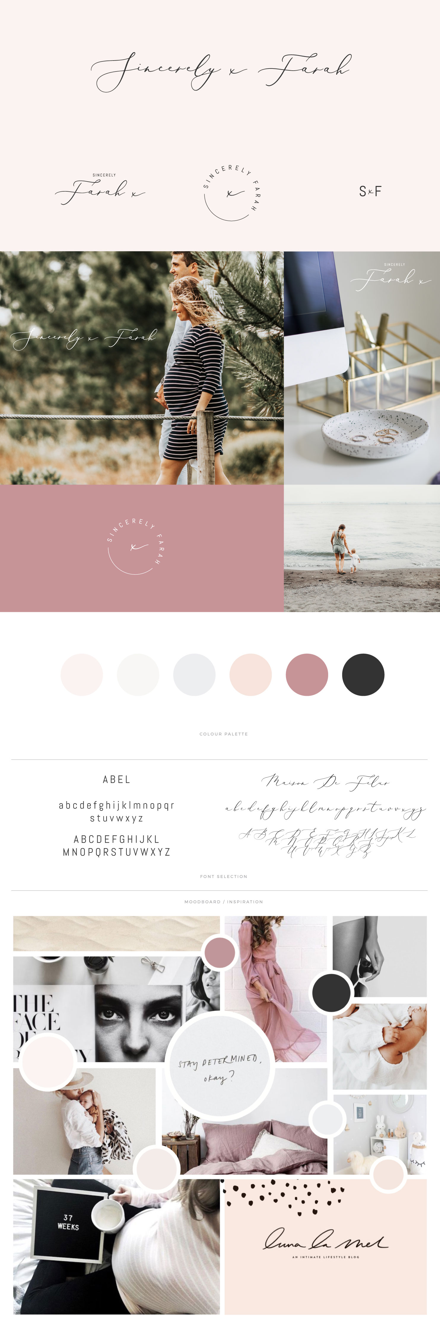 Sincerely x Farah brandboard - by January Made Design