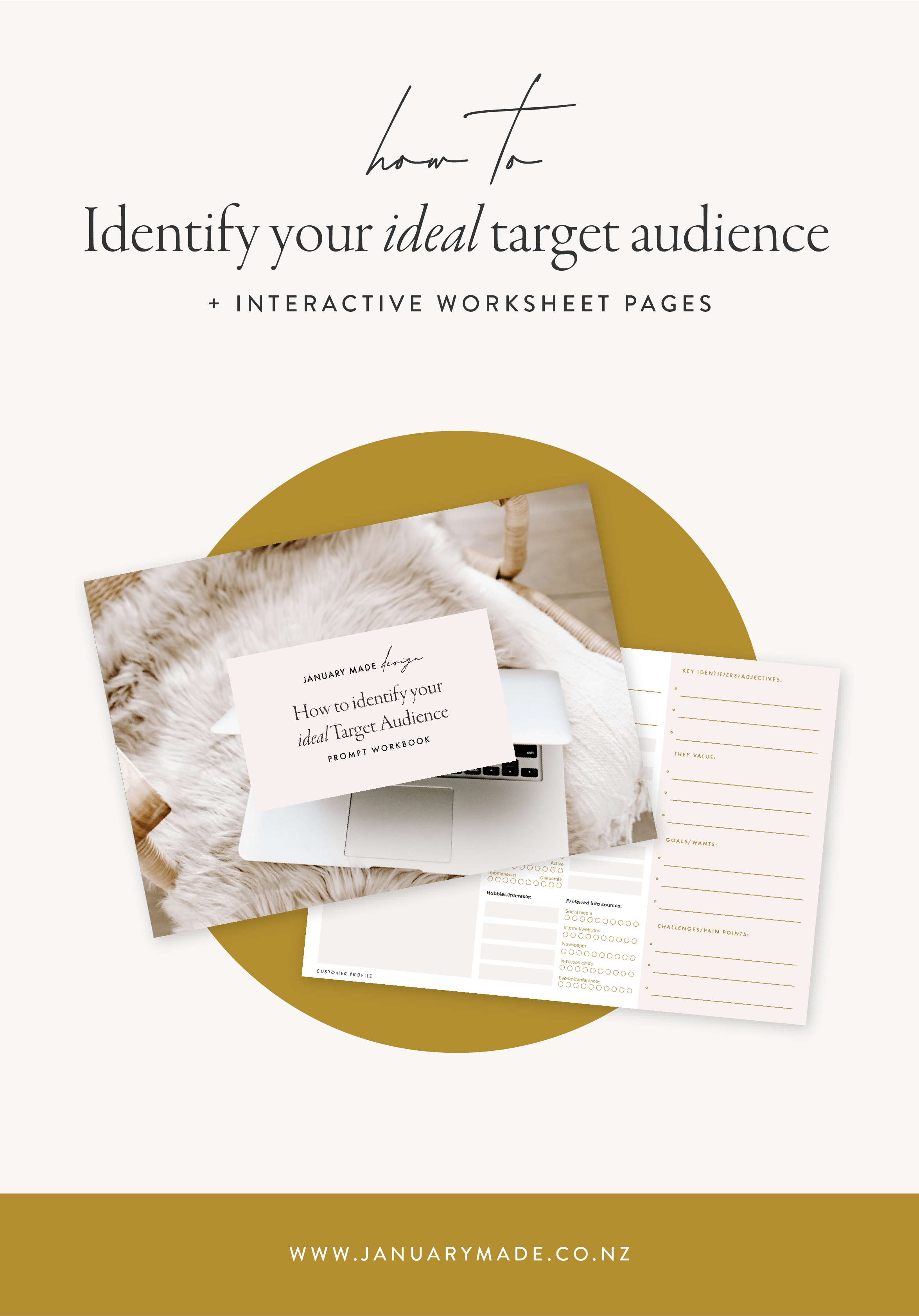 How to Identify Your Ideal Target Audience - January Made Design