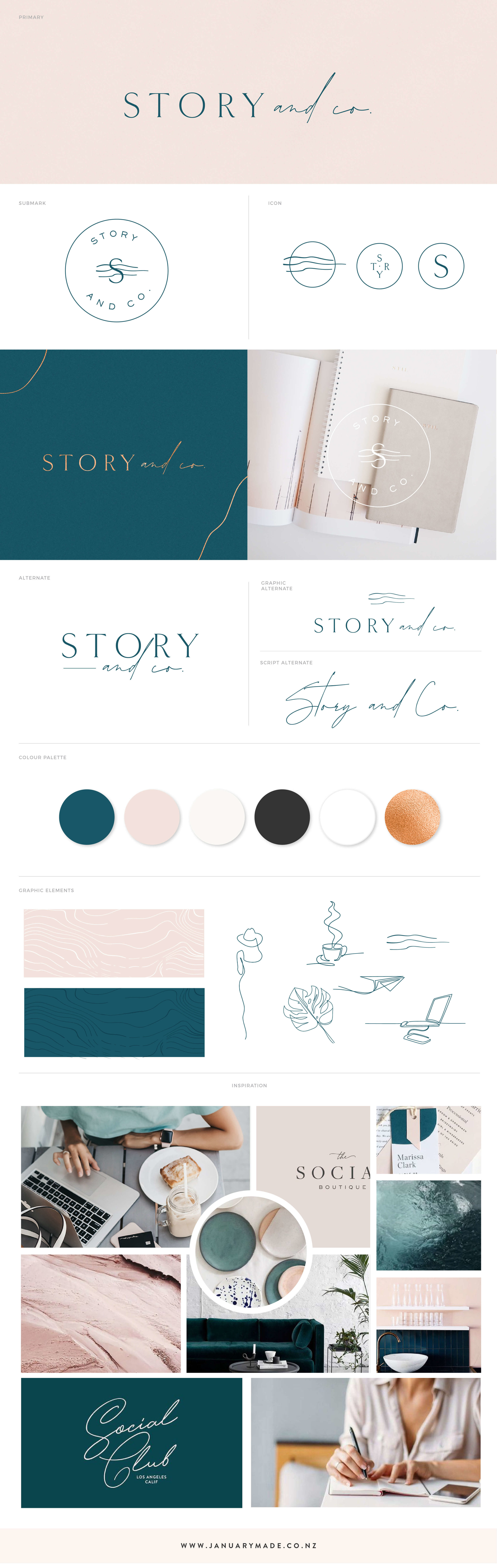 Story & Co. - January Made Design