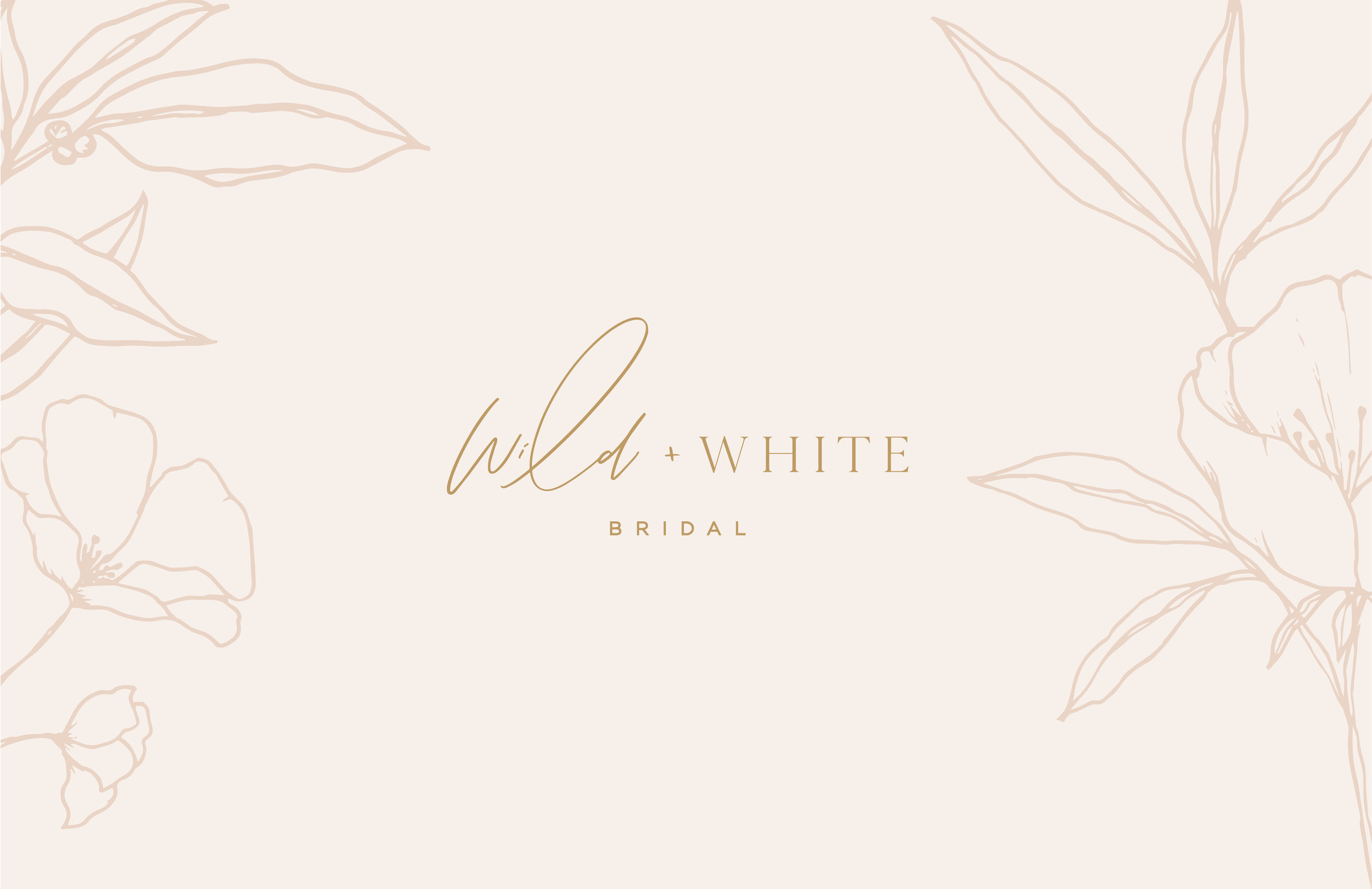 Wild and White logo - by January Made Design