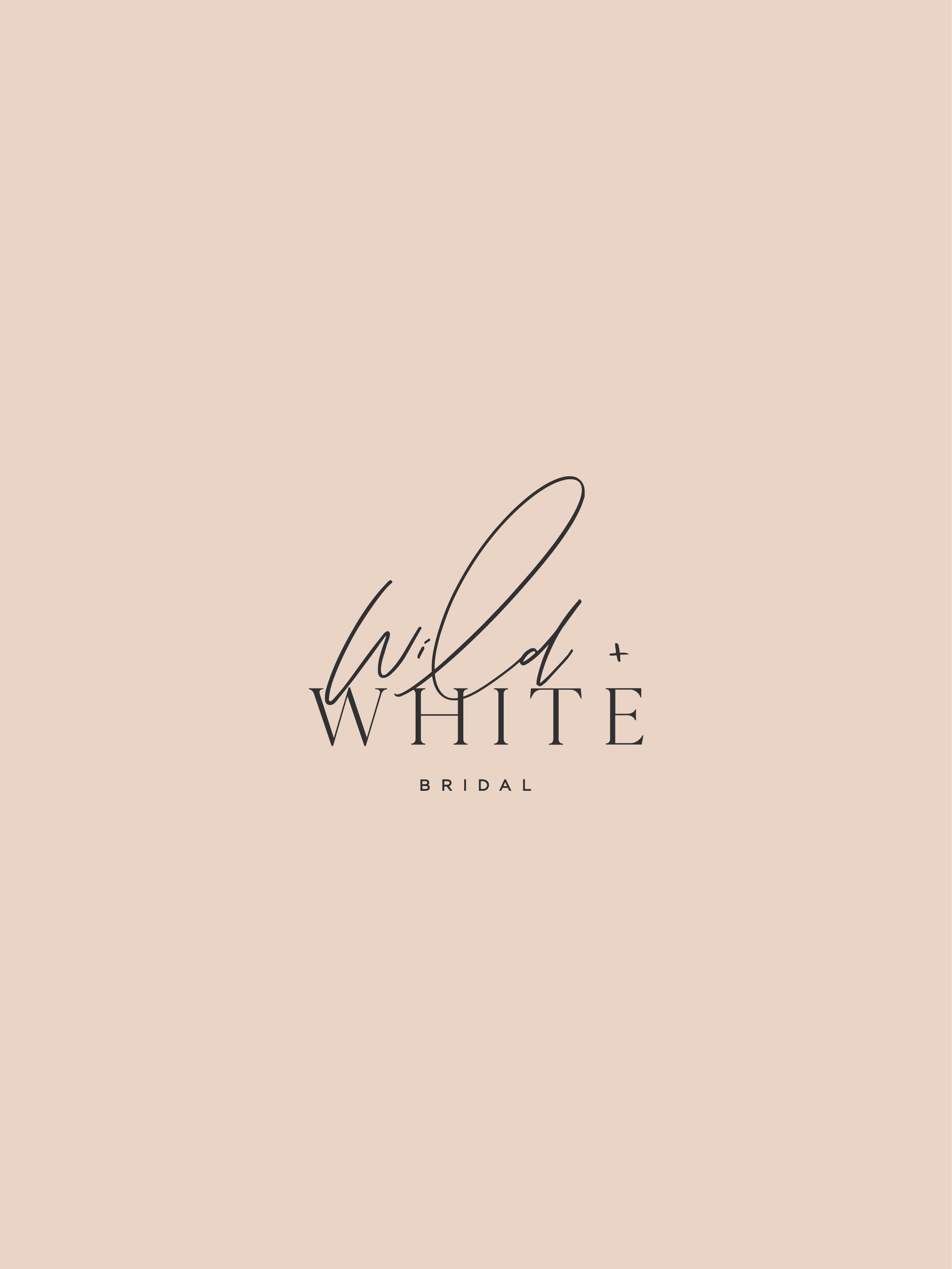 Wild and White Bridal alternate - by January Made Design
