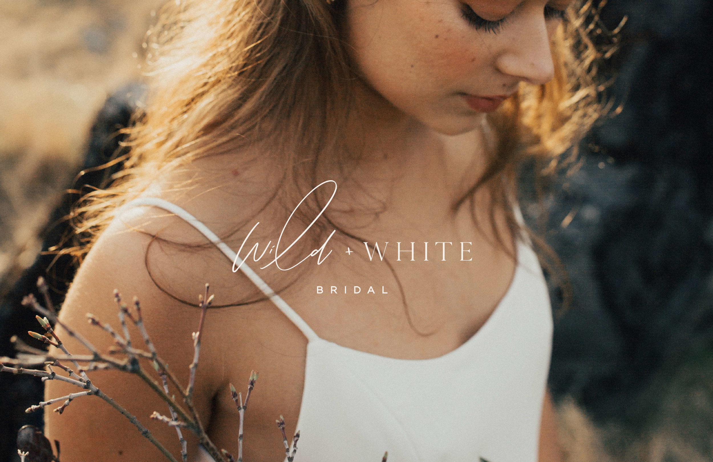 Wild and White Bridal (by Renee Edwards Photography) - January Made Design