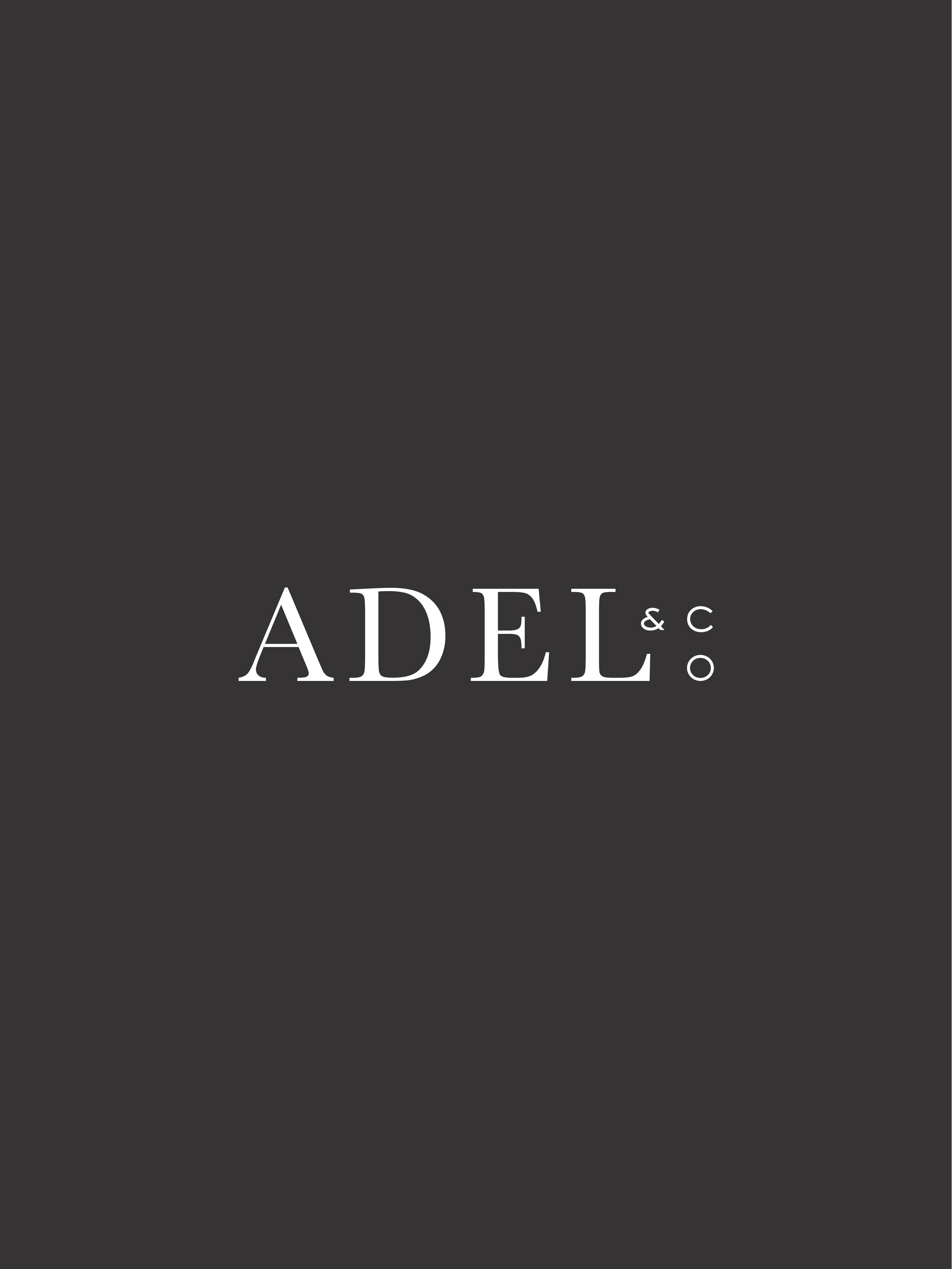 Adel & Co business cards - by January Made Design