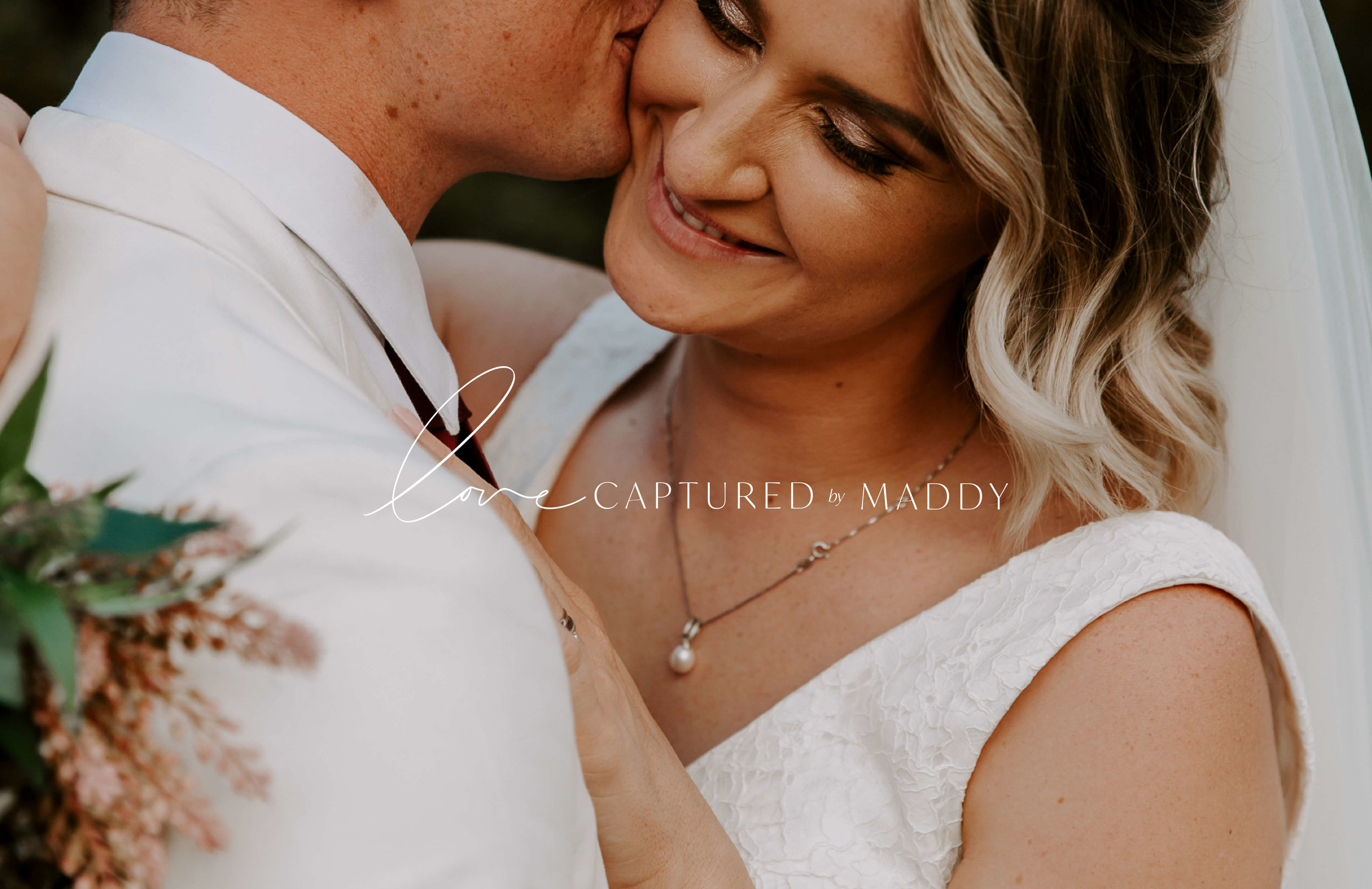 Love Captured by Maddy logo over image - by January Made Design