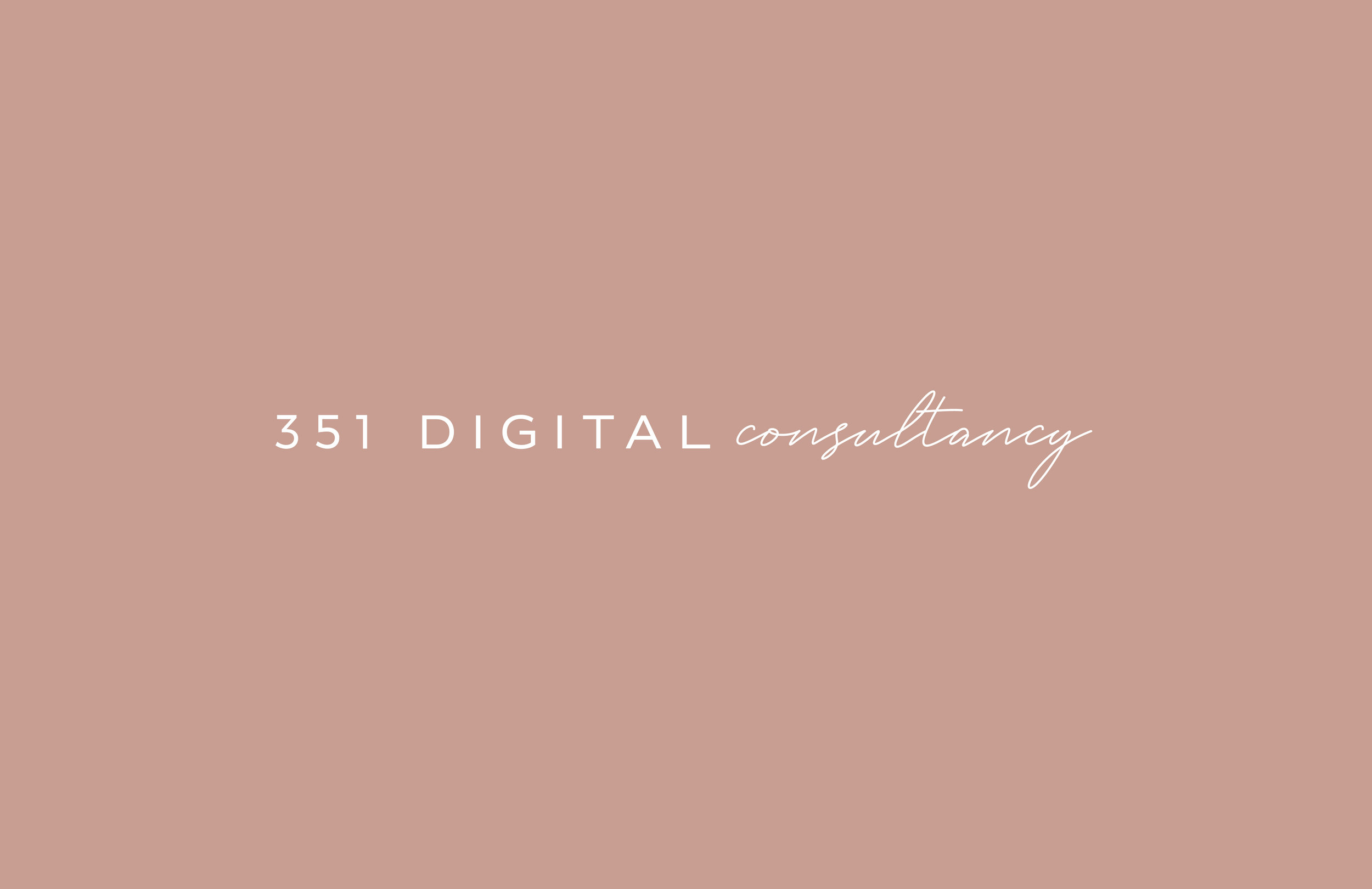 351 Digital Consultancy logo - by January Made Design