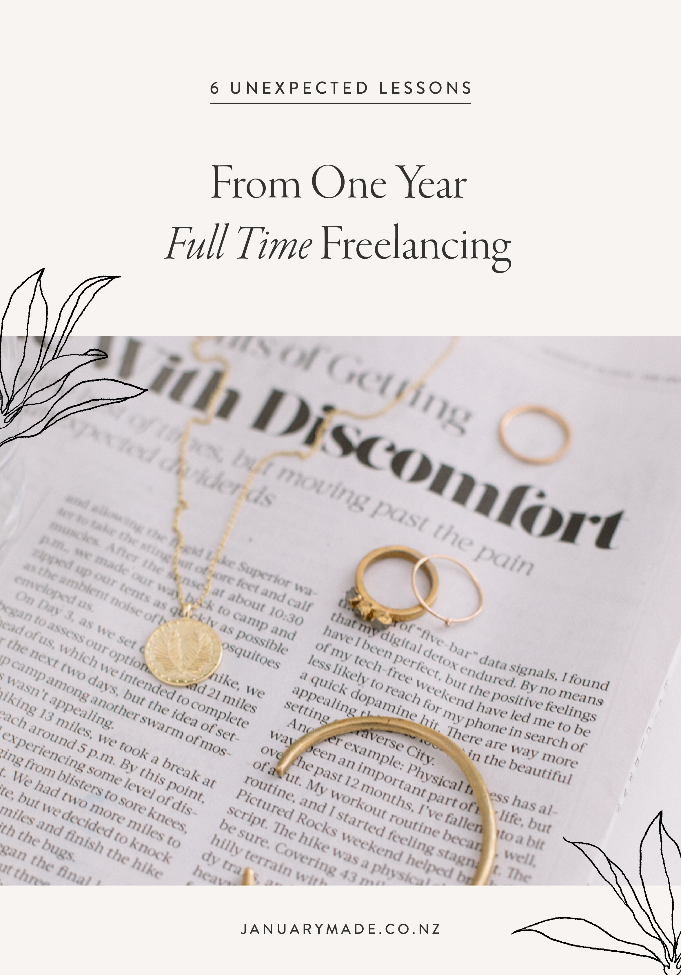 10 Unexpected Lessons From One Year Full Time Freelancing