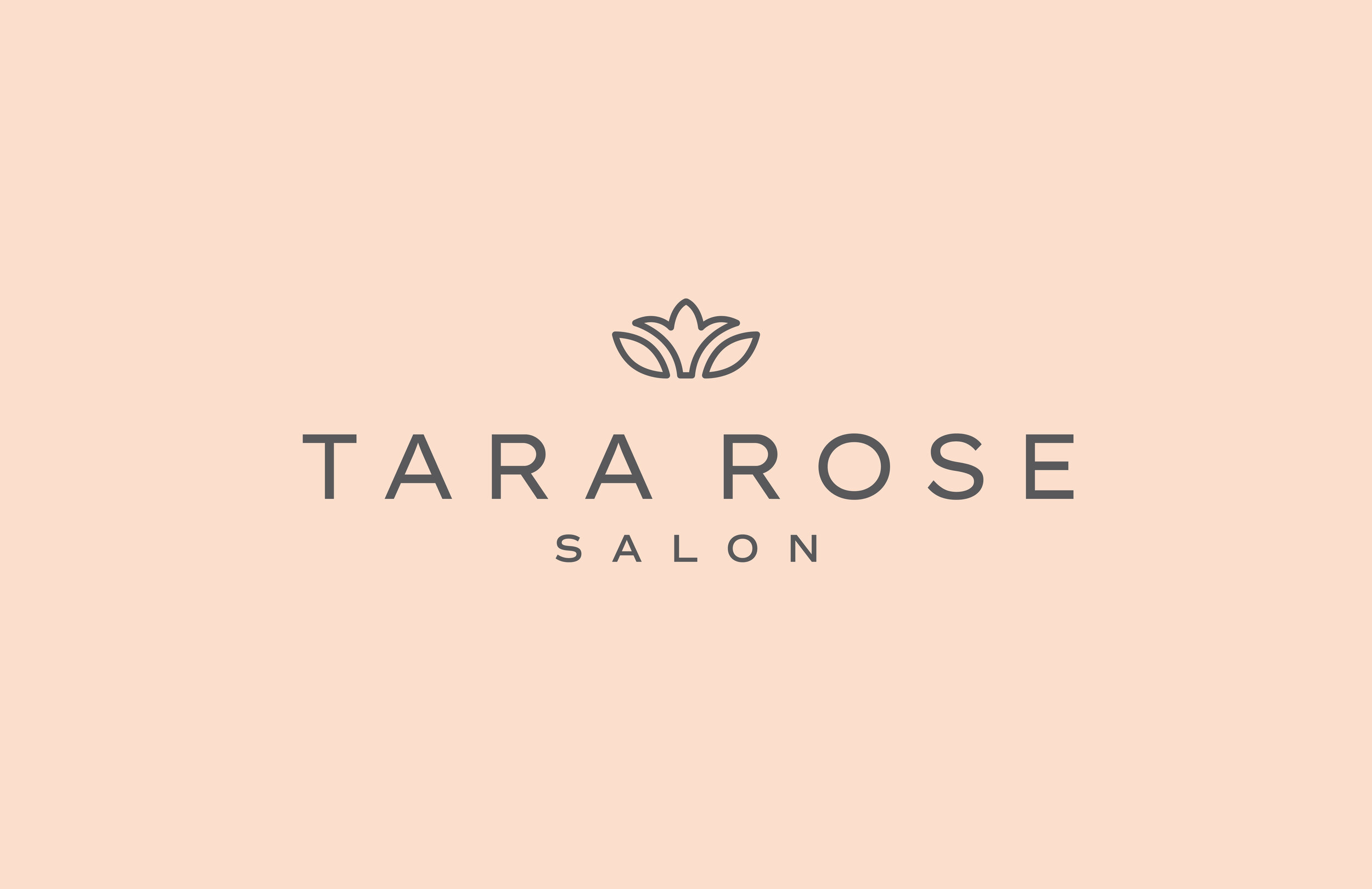 Tara Rose Salon logo - by January Made Design