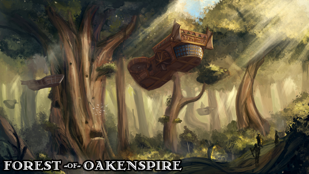 Forest of Oakenspire — Hero's Hoard