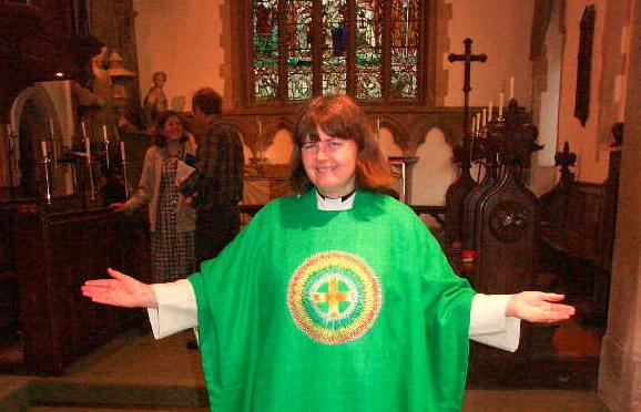 The Rector, Canon Christine Dale