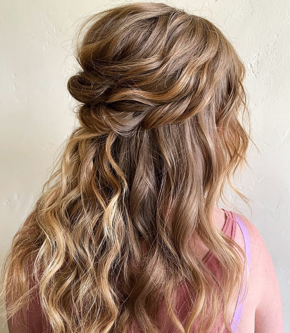 lots of curled twists and texture! by  Chaney Alexis