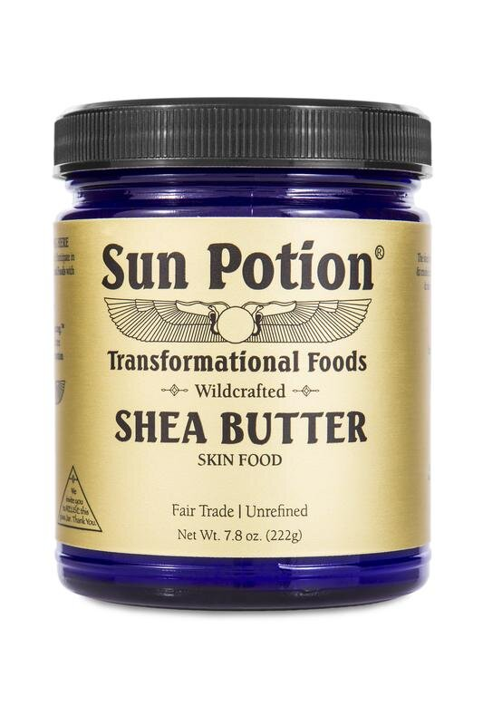 Sun Potion Wildcrafted Shea Butter Skin Food  - $20