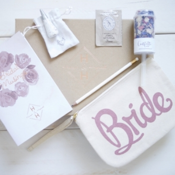 The Engaged gift box is perfect engagement gift to celebrate that extra special someone and help kickstart planning their fabulous dream wedding!