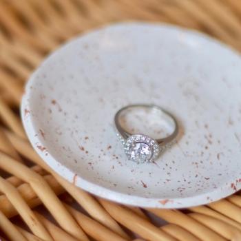 Fox & Lilly Ring Dish