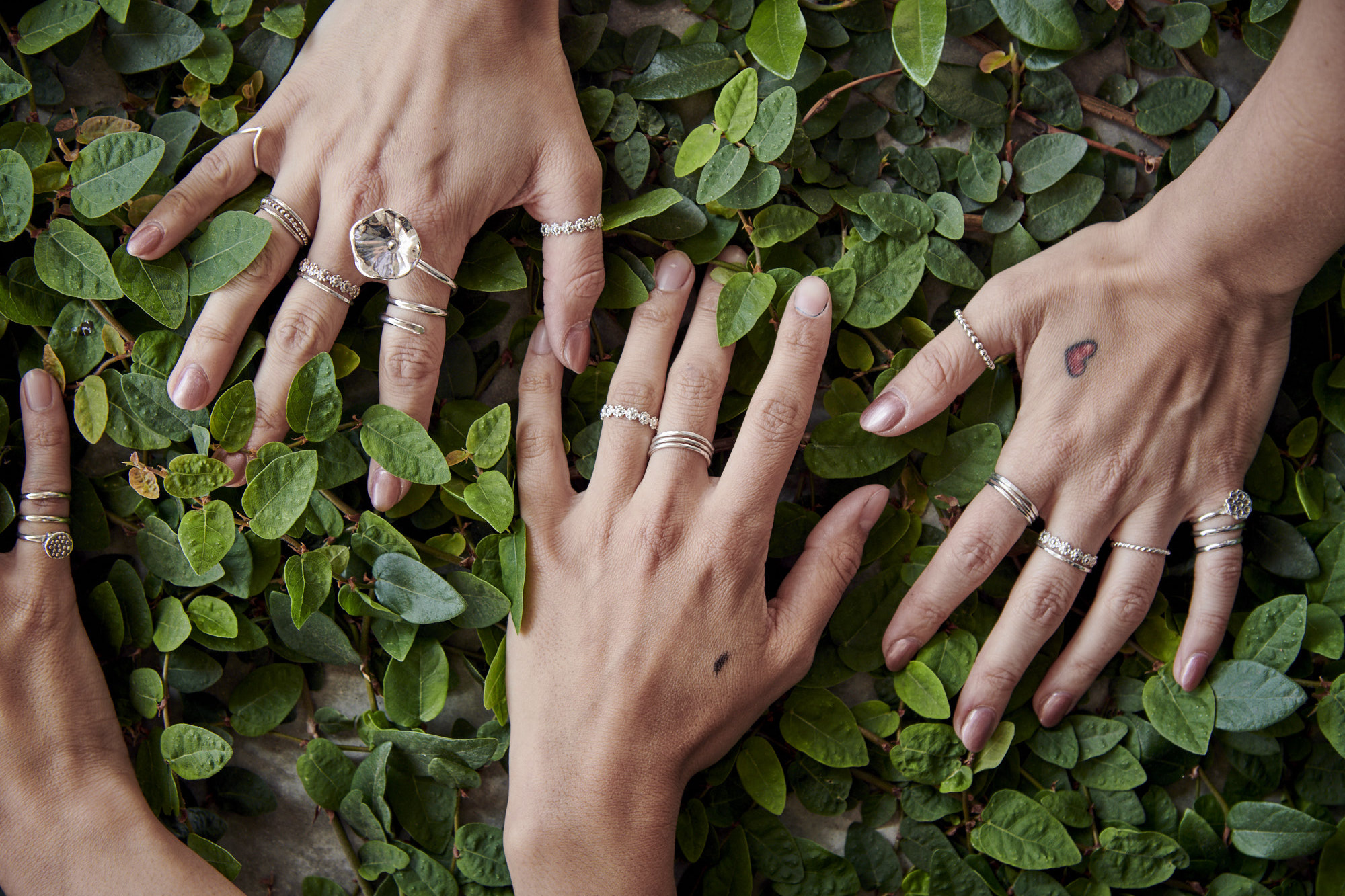 Stacking and Layering Rings by Charming Little Lotus