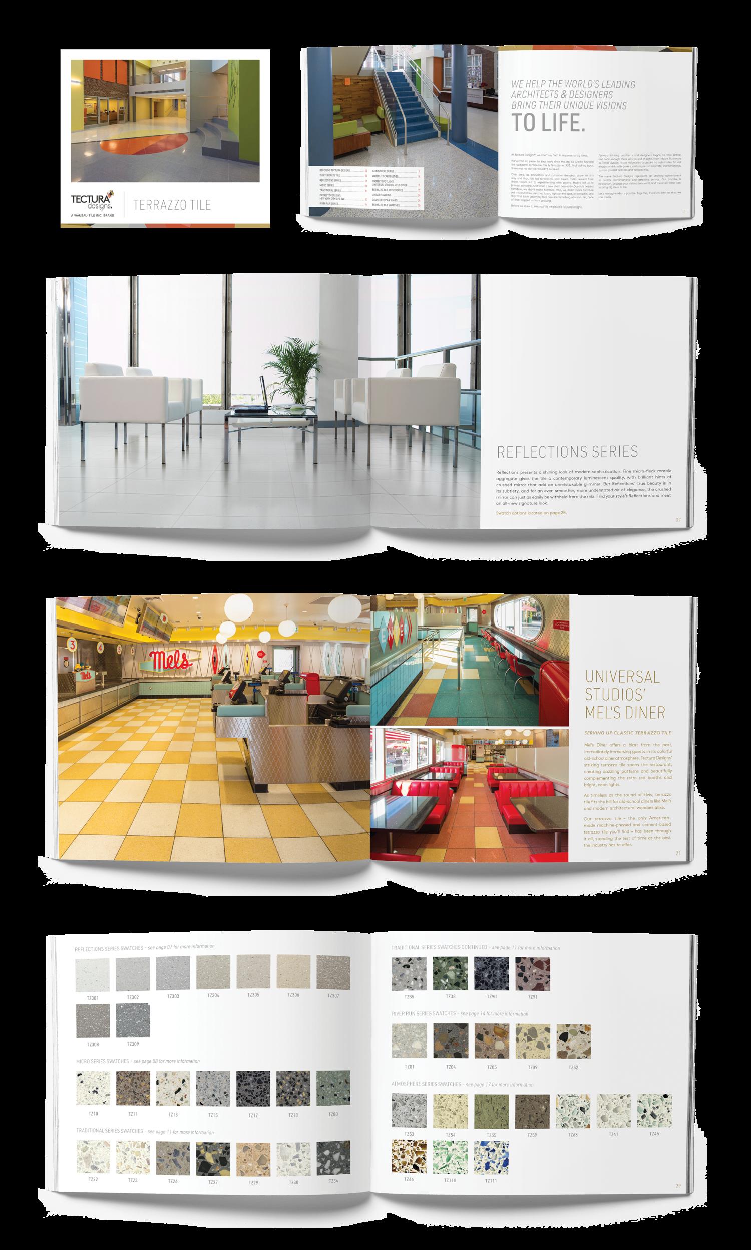 Tectura Designs // Catalog Redesign 2017 — Kylee Hawkinson