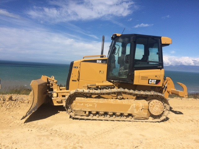 2012 CAT D5KLGP fitted with standard grousers, ripper valve & rippers