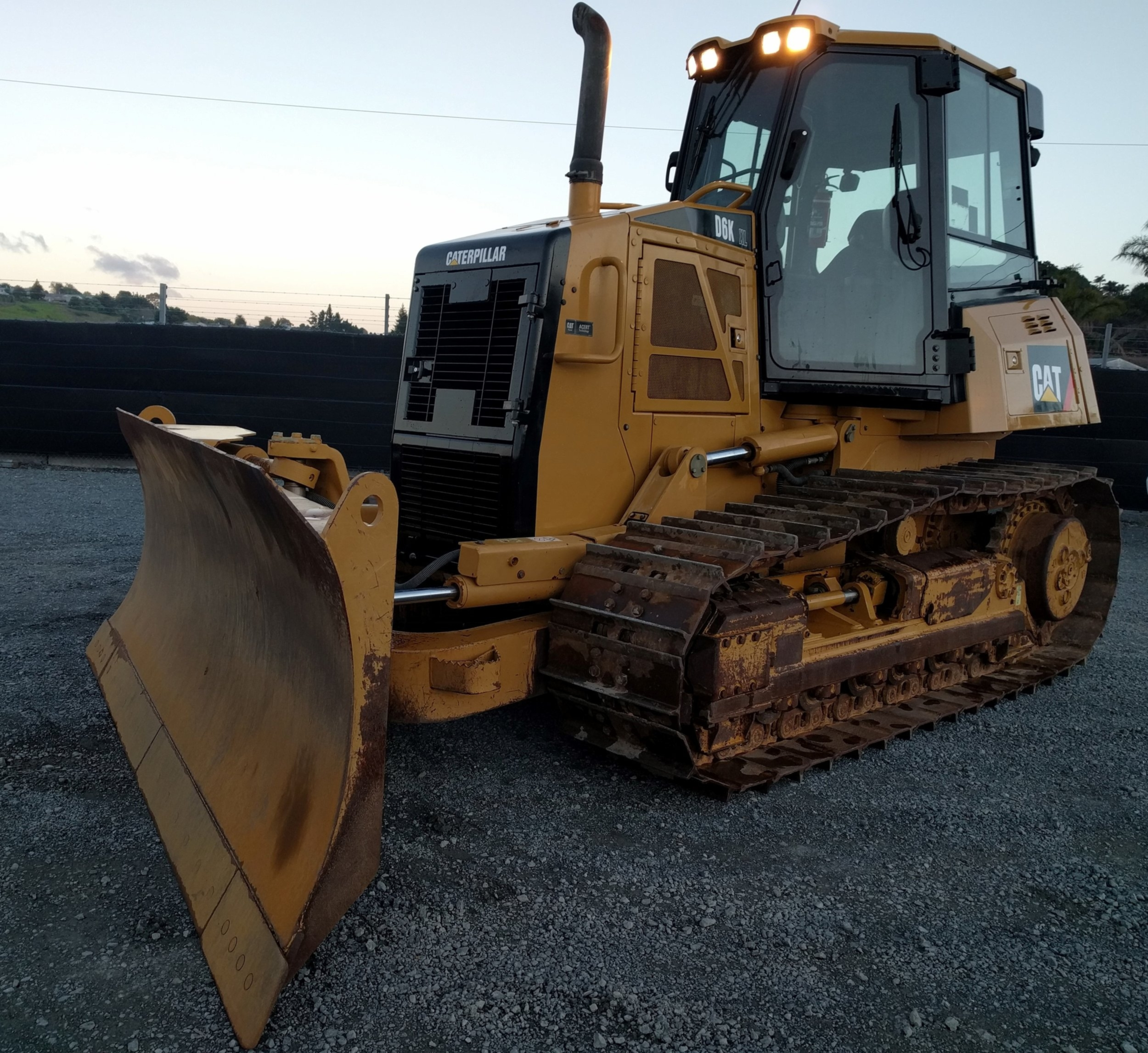 2009 CAT D6KXL dozer with 6-way PAT blade