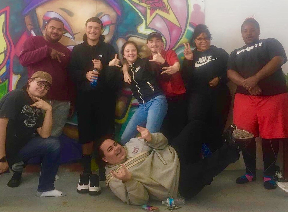 PACE/YouthBuild New Bedford Yoga - YouthBuild provides vocational and life skills to out-of-school young adults 16 - 24. We provide yoga twice a week to cultivate positive mindsets, healthy choices, and emotional resilience.