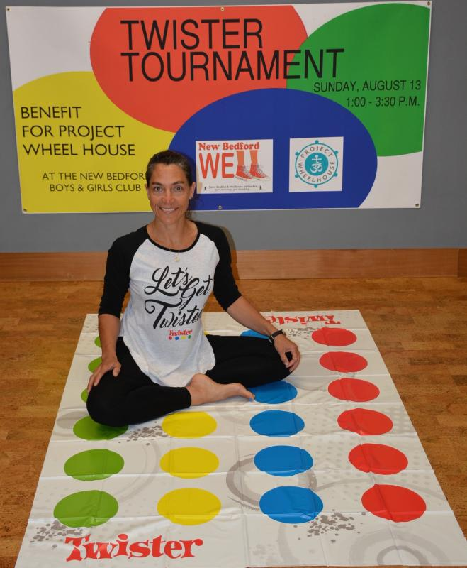 Jessica Webb is hosting a Twister tournament to raise money for her non-profit. Courtesy, Jessica Webb