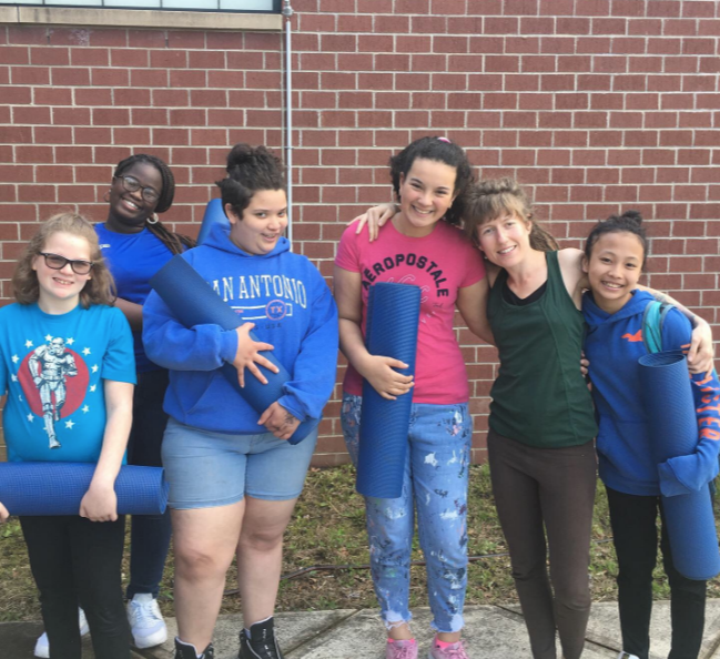 YWCA Girls Exclusive Yoga - In partnership with the YWCA Girls Exclusive program, we provide a special after-school yoga class for at-risk young teen girls ages 11 - 14, teaching them self-worth and empowerment through yoga.