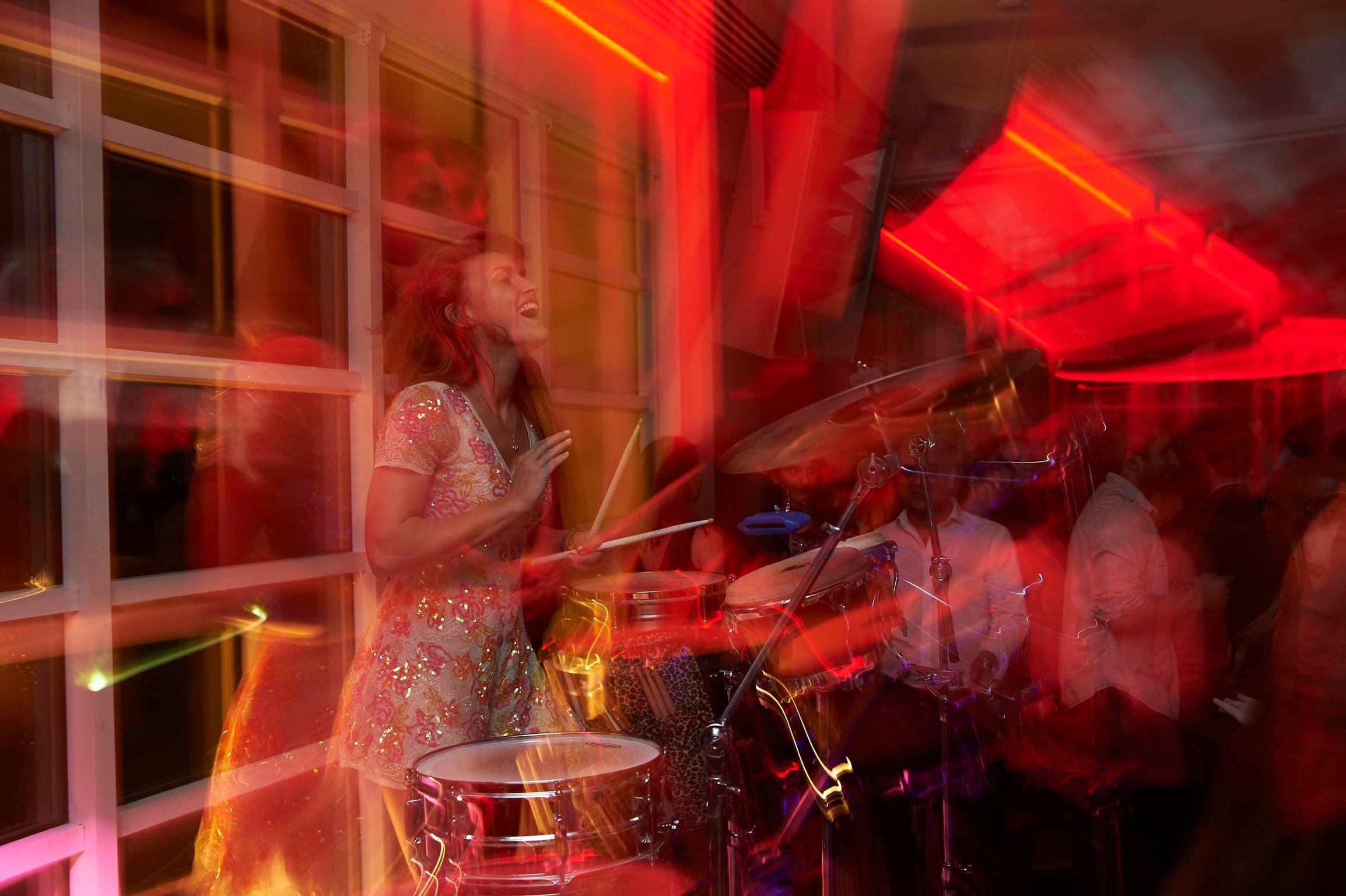 Kesington Roof Gardens Percussion Set