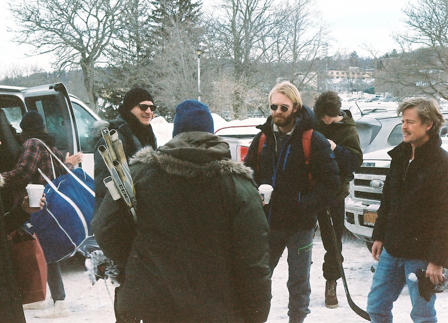 Form left to right: Dylan Playfair, Kazy Tauginas, Doug Dearth, Gjermund Gjesme, Jack Mulhern, Caspar Phillipson
