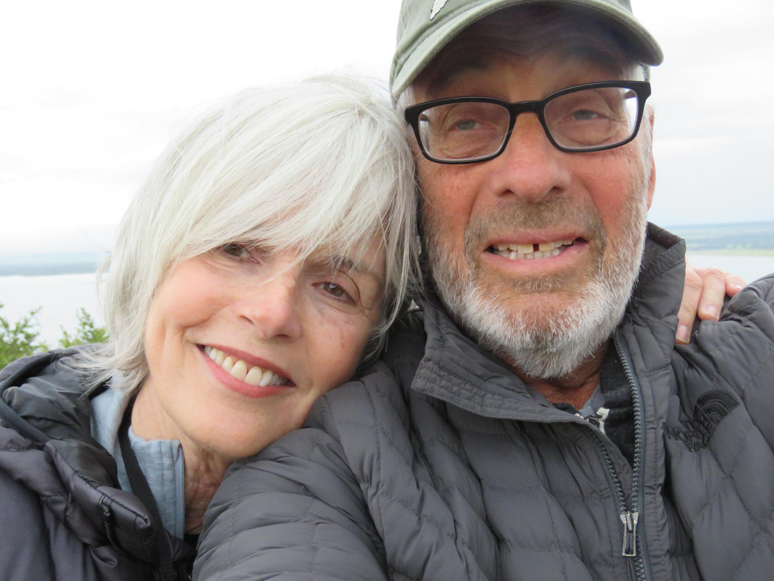 Hawk Koch and Molly Jordan