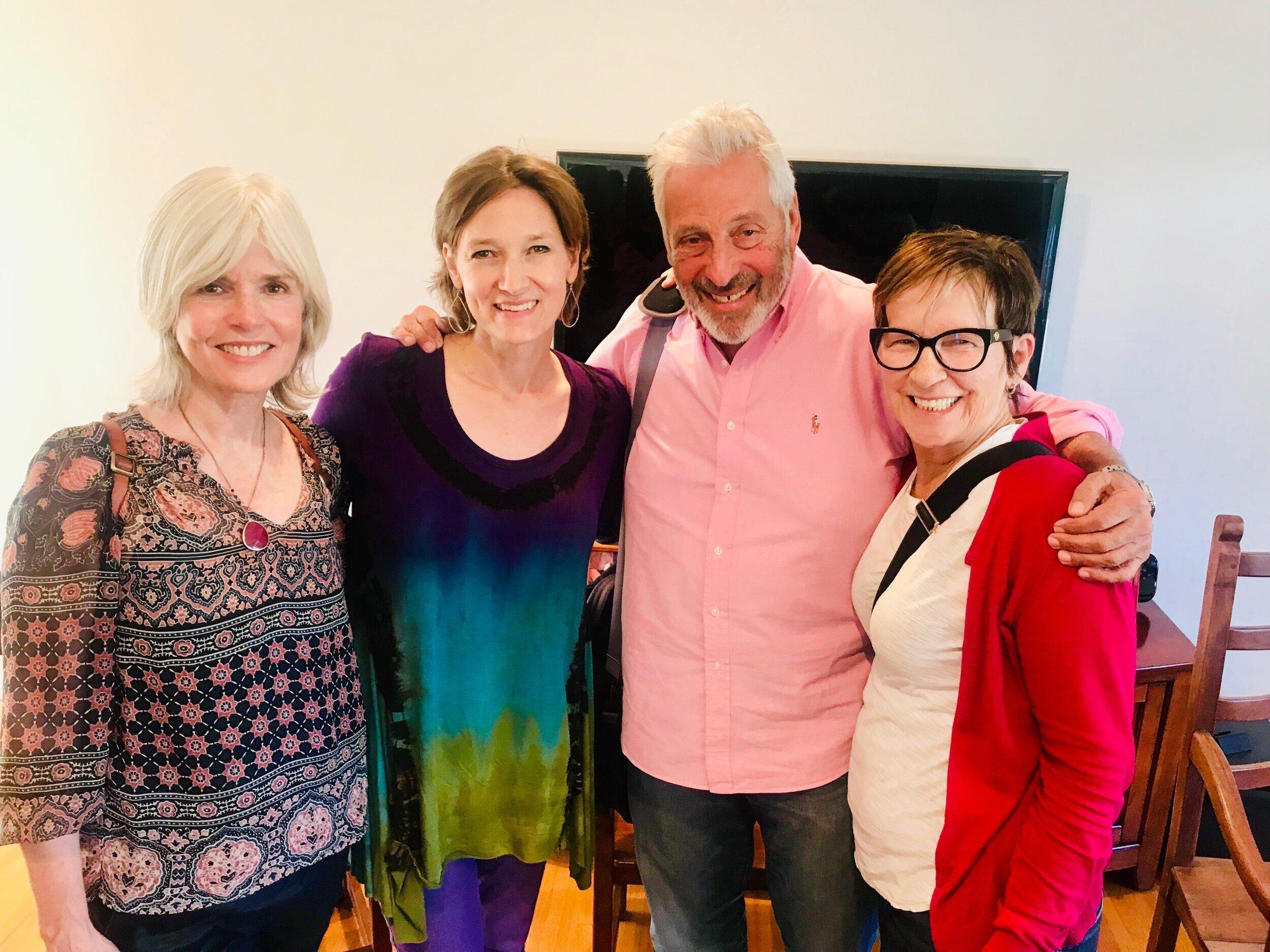 Molly Jordan, Karin Gutman, Hawk Koch and Wendy Adamson