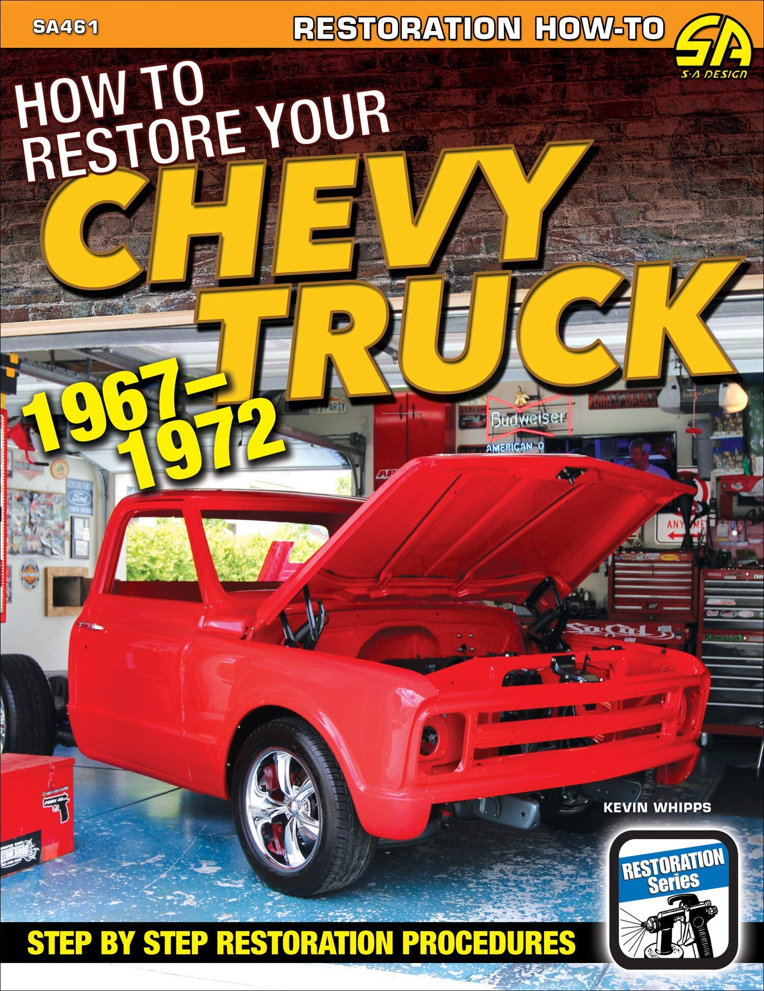 How to Restore Your Chevy Truck: 1967-1972 - The same basic premise as the other book, but with older trucks.